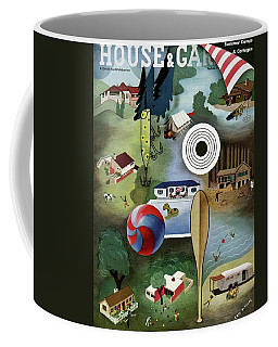 House And Garden Summer Camps And Cottages Cover Coffee Mug