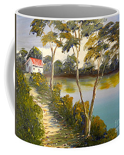House By The Lake Coffee Mug
