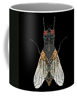 House Fly Bedazzled Coffee Mug