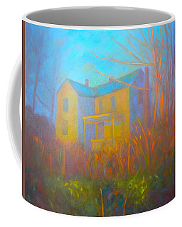 House In Blacksburg Coffee Mug by Kendall Kessler