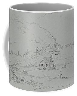 House In Mount Desert Coffee Mug