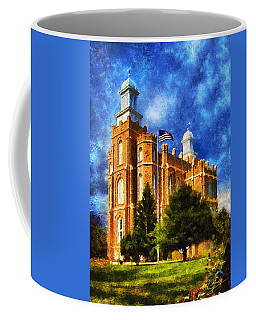 Coffee Mug featuring the digital art House Of Learning by Greg Collins