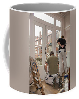 House Painters At Work Coffee Mug