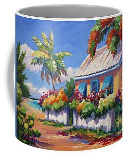 House With Blue Shutters Coffee Mug