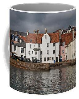 Houses At Pittenweem Harbor Coffee Mug