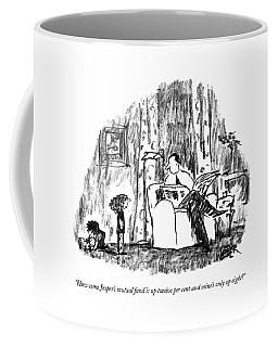 How Come Jasper's Mutual Fund Is Up Twelve Per Coffee Mug