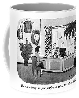 How Convincing Are Your Jungle-bird Calls Coffee Mug