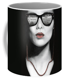 How Do I Love Thee...let Me Count Your Money Coffee Mug by Pat Erickson