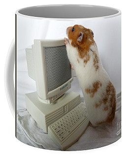 How Do You Switch On This Screen? Coffee Mug by Vicki Spindler