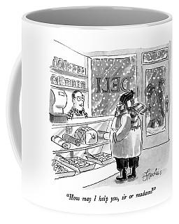 How May I Help Coffee Mug