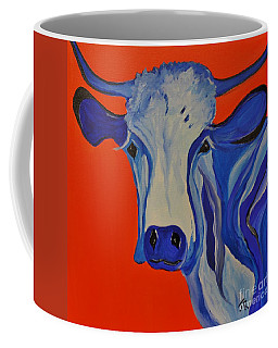 How Now Blue Cow Coffee Mug