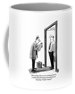 Doorway Drawings Coffee Mugs