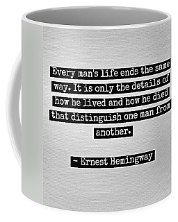 How You Live Coffee Mug