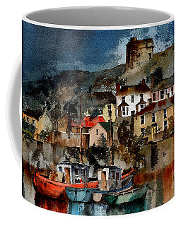 Howth Harbour In County Dublin Coffee Mug
