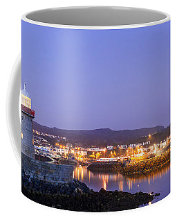 Howth Harbour Lighthouse Coffee Mug by Semmick Photo
