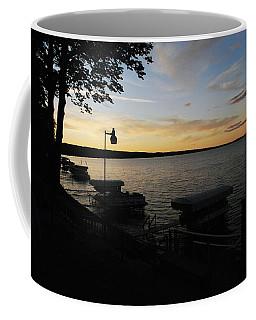 Hubbard Lake Sunset Coffee Mug