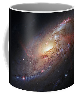 Hubble View Of M 106 Coffee Mug