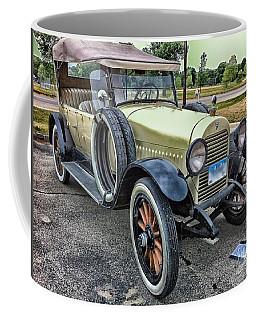 Coffee Mug featuring the photograph hudson 1921 phaeton car HDR by Paul Fearn