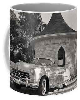 Coffee Mug featuring the photograph Hudson Commodore Convertible by Verana Stark
