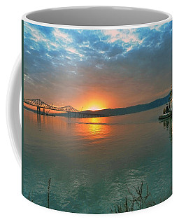 Hudson River Sunset Coffee Mug