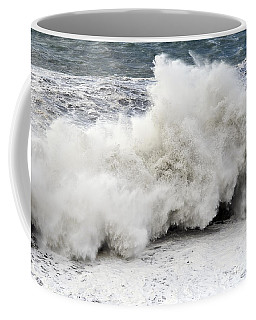 Huge Wave Coffee Mug by Antonio Scarpi