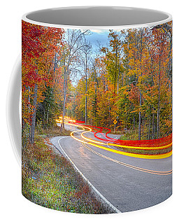 Hugging The Curves Coffee Mug