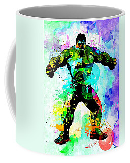 Hulk Watercolor Coffee Mug