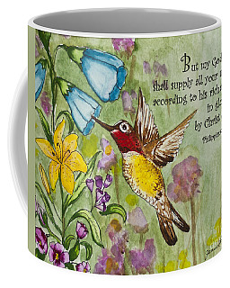 Humming Bird- Philipians Coffee Mug
