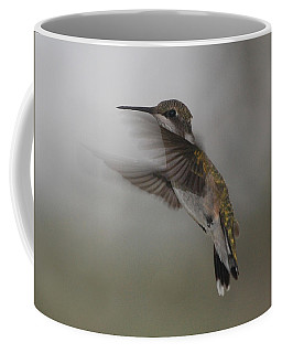 Coffee Mug featuring the photograph Hummingbird 6 by Leticia Latocki