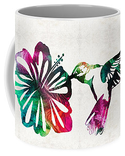 Hummingbird Art - Tropical Chorus - By Sharon Cummings Coffee Mug