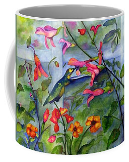 Hummingbird Dance Coffee Mug