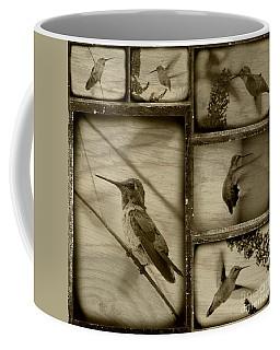 Hummingbird Family Portraits Coffee Mug