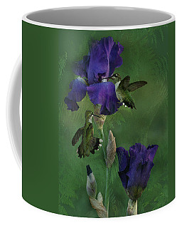 Hummingbird Gathering Coffee Mug by TnBackroadsPhotos