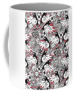 Hummingbird Heaven Rouge Coffee Mug
