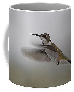 Coffee Mug featuring the photograph Hummingbird  by Leticia Latocki