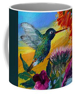 Hummingbird Coffee Mug by Robin Maria Pedrero