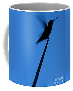 Hummingbird Silhouette Coffee Mug