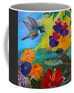 Hummingbirds Prayer Warriors Coffee Mug