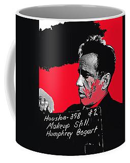Coffee Mug featuring the photograph Humphrey Bogart The Maltese Falcon Makeup Photo by David Lee Guss