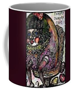 Humpty Dumpty Parody Coffee Mug by Akiko Okabe