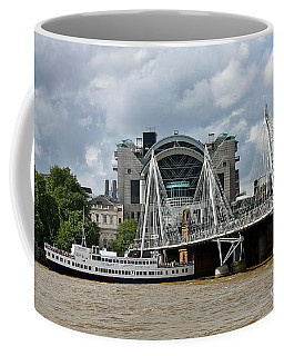 Hungerford Bridge And Charing Cross Coffee Mug