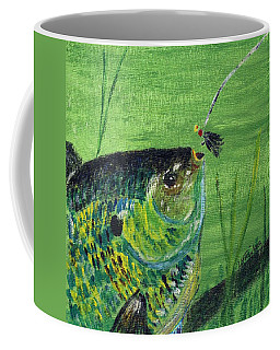 Hungry Bluegill Coffee Mug