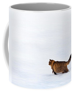 Hunter At Work Coffee Mug