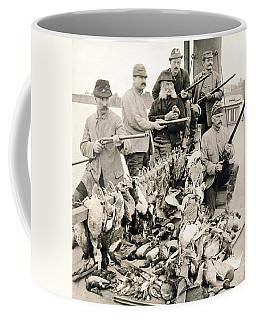 Hunters Pose With Their Birds Coffee Mug