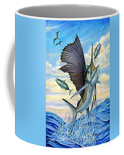 Hunting Of Small Tunas Coffee Mug