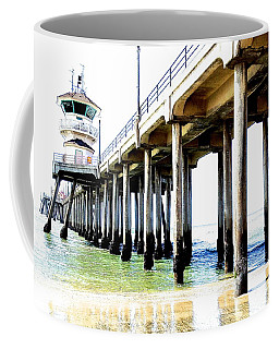 Huntington Beach Pier Coffee Mug