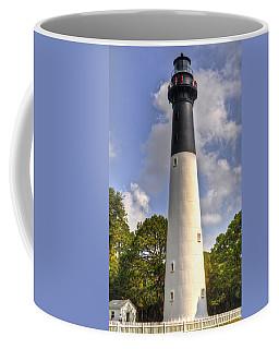 Coffee Mug featuring the photograph Huntington Island Lighthouse by Deborah Klubertanz
