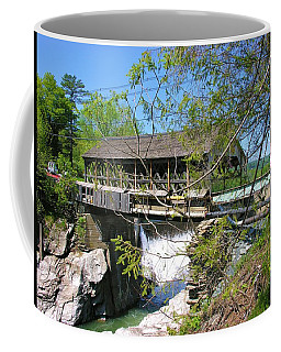 Coffee Mug featuring the photograph Hurricane Irenes Destruction by Sherman Perry