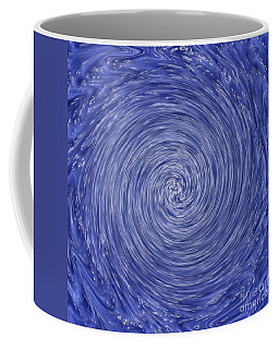 Hurricane Or Tornado Abstract Art Prints Coffee Mug by Valerie Garner