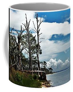 Coffee Mug featuring the photograph Hurricane Trail by Faith Williams